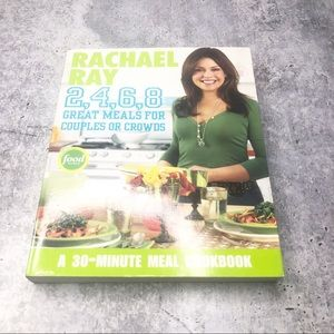 RACHAEL RAY 2,4,6,8 Meals Crowds Recipe Cook Book